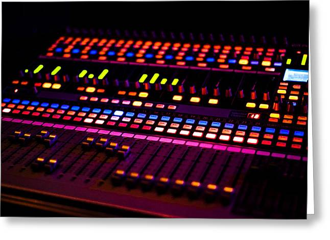 Soundboard Greeting Card by Anthony Citro