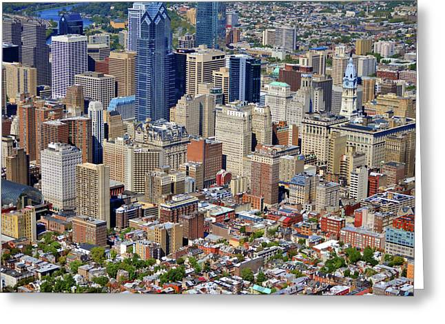 Phillies Art Photographs Greeting Cards - South Broad Street Philadelphia Greeting Card by Duncan Pearson