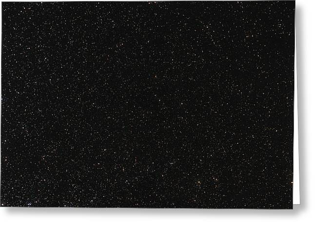 Starfield Greeting Cards - South Celestial Pole Greeting Card by Eckhard Slawik