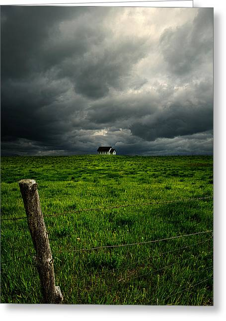 Geographic Greeting Cards - South Dakota Greeting Card by Phil Koch