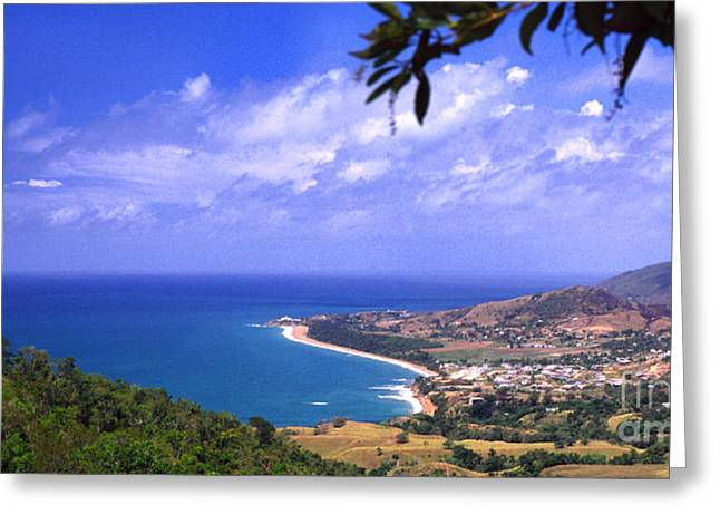 Puerto Rico Greeting Cards - Southeast Coast  Panoramic Route Greeting Card by Thomas R Fletcher