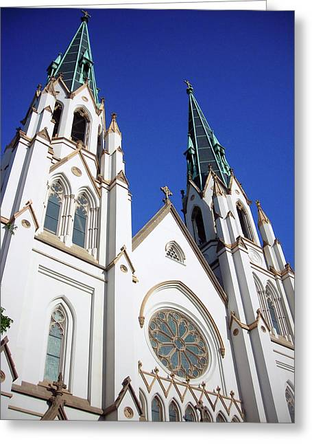 Michael Mckenzie Greeting Cards - Southern Church Greeting Card by Michael McKenzie