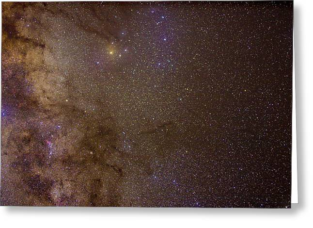 Southern Milky Way Greeting Card by Charles Warren