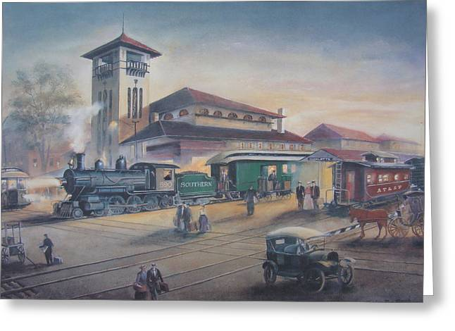 Southern Railway Greeting Card by Charles Roy Smith