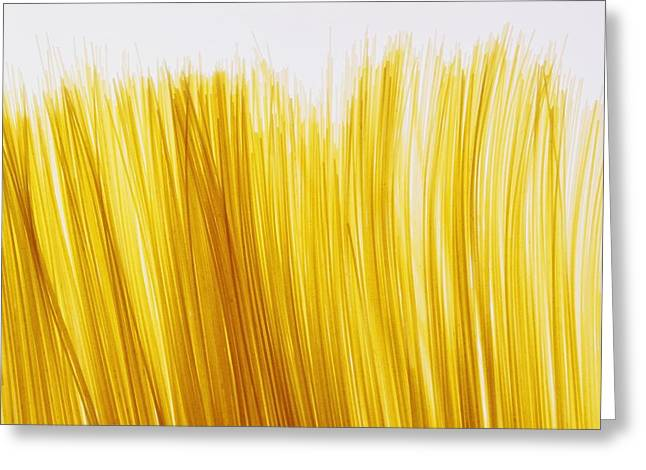Spaghetti Greeting Card by David Chapman