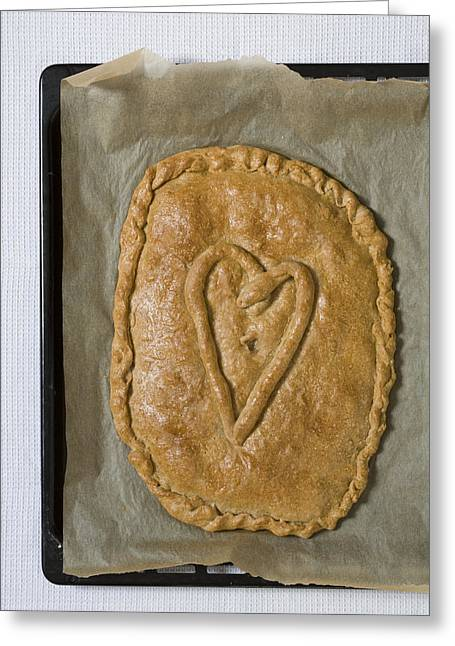Valentines Day Greeting Cards - Spanish Empanada Greeting Card by Frank Tschakert