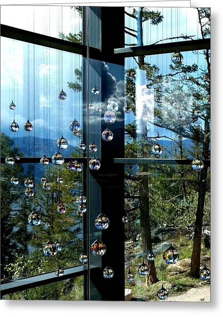 Swarovski Greeting Cards - Sparkling Hill Resort 6 Greeting Card by Will Borden