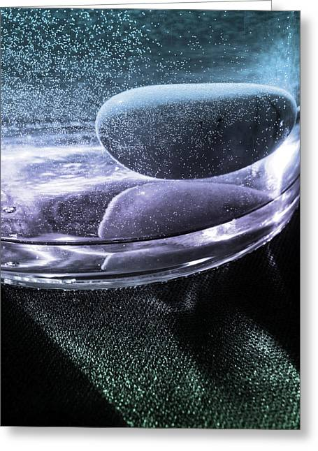 Dramatic Lighting Greeting Cards - Sparkling On the Rocks Greeting Card by Barbara  White