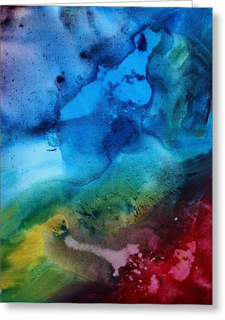 Licensor Greeting Cards - Speak to Me 3 Greeting Card by Megan Duncanson