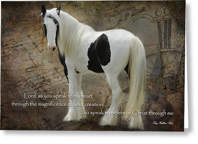 Gypsy Greeting Cards - Speak to My Heart Greeting Card by Terry Kirkland Cook