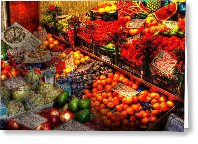 Chianti Digital Art Greeting Cards - Specials Greeting Card by Barry R Jones Jr