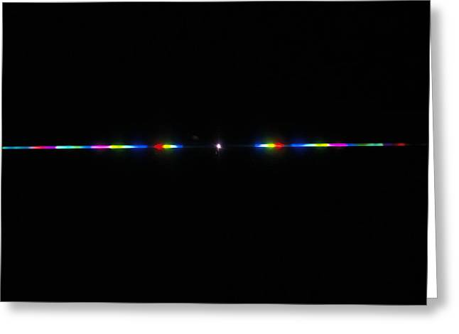 Spectrum Greeting Cards - Spectrum Of Visible Light Greeting Card by Andrew Lambert Photography