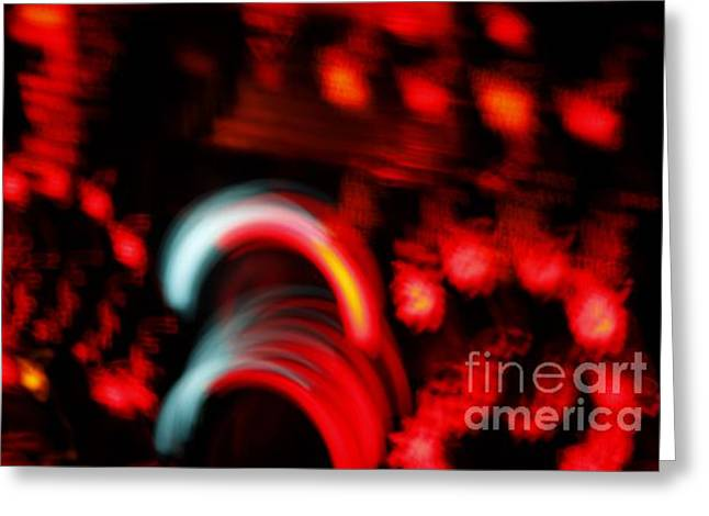 Trepidation Greeting Cards - Speed Greeting Card by Xn Tyler