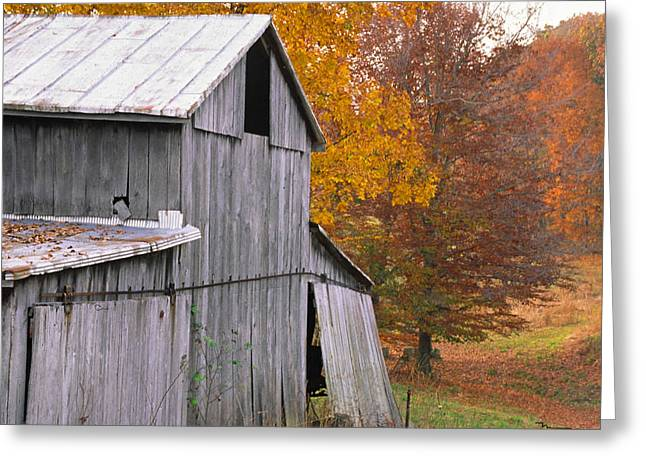Spencer Indiana Greeting Cards - Spencer County Indiana Greeting Card by Marsha Williamson Mohr
