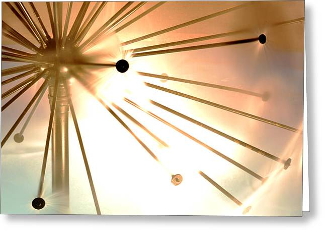 Sphere Greeting Card by Anthony Citro