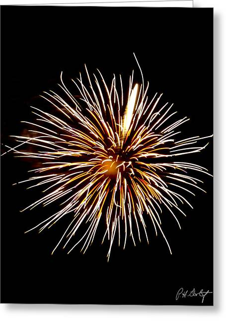 July 4th Greeting Cards - Spider Ball Greeting Card by Phill  Doherty