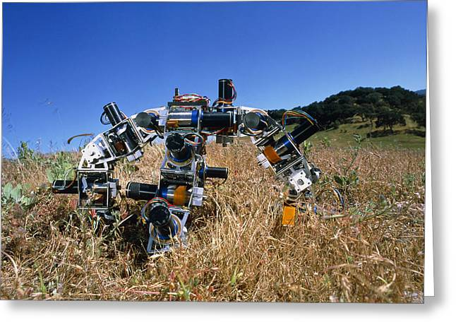 Us Open Photographs Greeting Cards - Spider Robot Greeting Card by Volker Steger