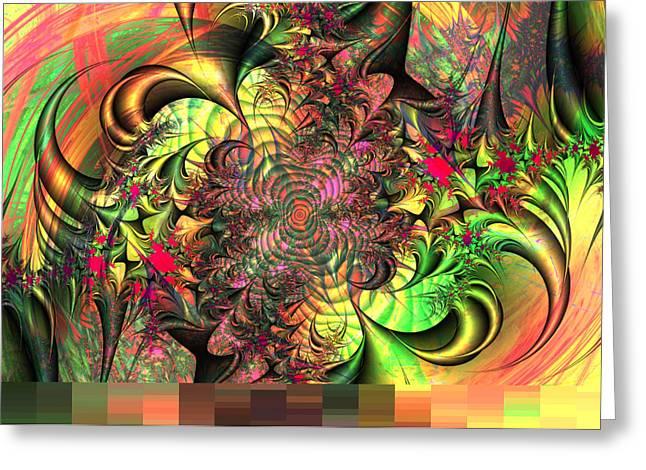 Robert Matson Greeting Cards - Spider Web Greeting Card by Robert Matson