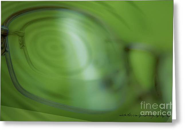 Vicki Greeting Cards - Spinner Vision Greeting Card by Vicki Ferrari Photography