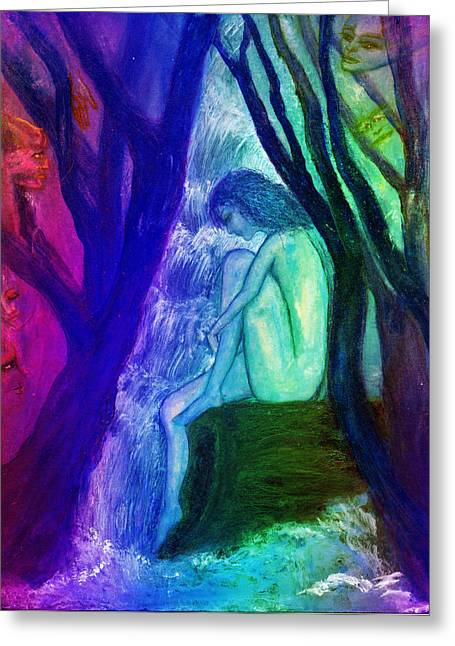 Intuitive Greeting Cards - Spirit Guides II Greeting Card by Patricia Motley