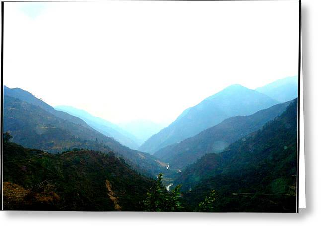 Splendors Of Himalayas-2 Greeting Card by Anand Swaroop Manchiraju