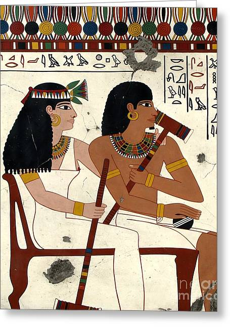Hathor Greeting Cards - Sport of Kings Greeting Card by Richard Deurer