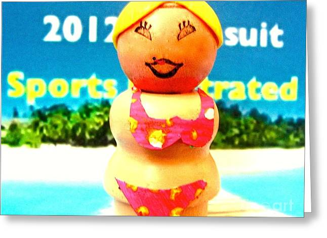Sports Illustrated Greeting Cards - Sports Illustrated Greeting Card by Ricky Sencion