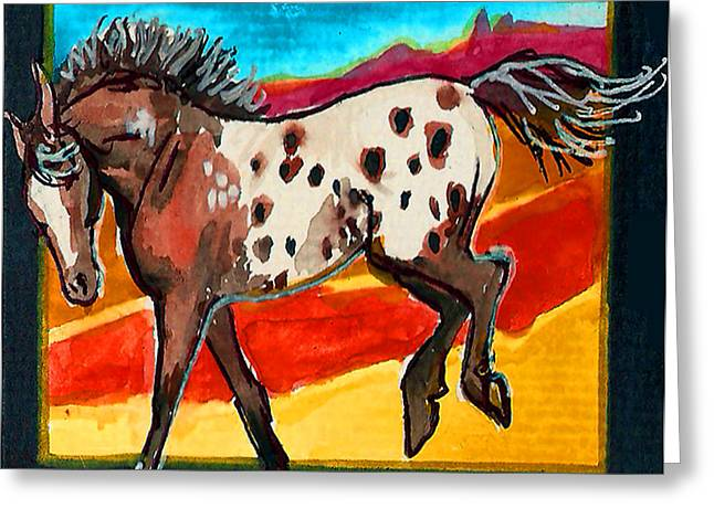 Jenn Cunningham Greeting Cards - Spotted Dreams 9 of 10 Greeting Card by Jenn Cunningham