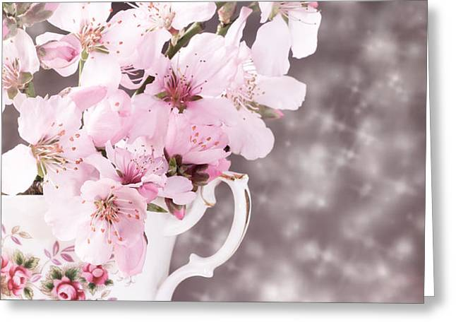 Spring Blossom Greeting Card by Amanda And Christopher Elwell