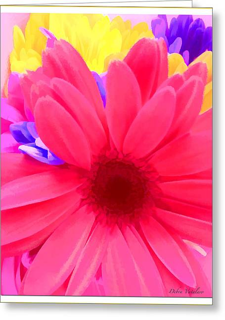 Vision Of Loveliness Greeting Cards - Spring Burst Colors Greeting Card by Debra     Vatalaro