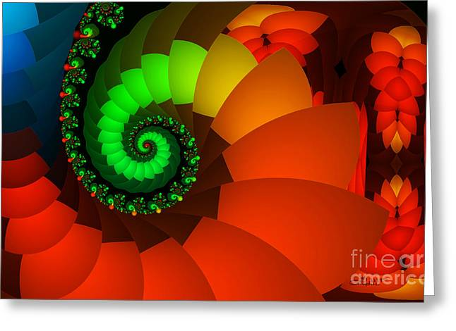 Spring Fever Greeting Cards - Spring Fever Greeting Card by Jutta Maria Pusl