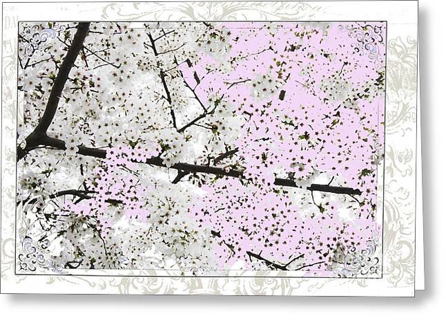 Spring Flowers Licensing Art Greeting Card by Anahi DeCanio
