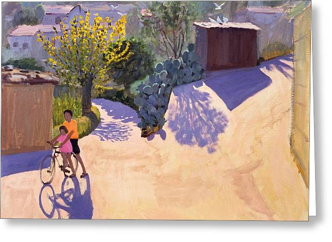 Sunnies Greeting Cards - Spring in Cyprus Greeting Card by Andrew Macara