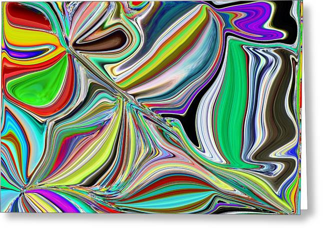 Tim Allen Greeting Cards - Spring Kaleidoscope Greeting Card by Tim Allen