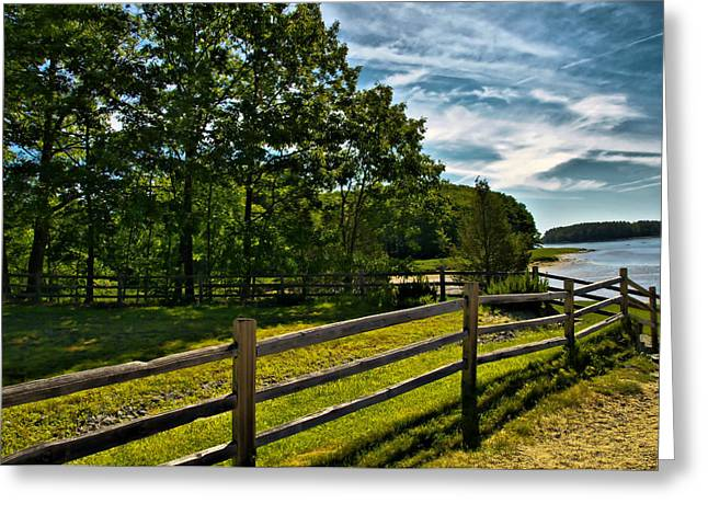 Ladscapes Greeting Cards - Spring Landscape in NH 2 Greeting Card by Edward Myers