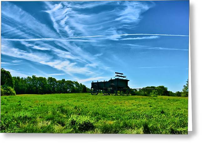 Ladscapes Greeting Cards - Spring Landscape in NH 4 Greeting Card by Edward Myers