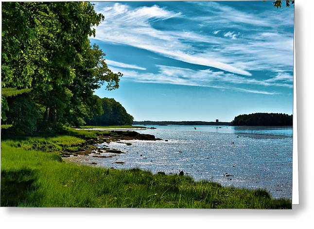 Ladscapes Greeting Cards - Spring Landscape in NH 5 Greeting Card by Edward Myers