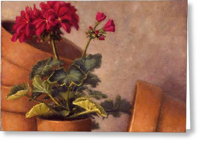Spring Planting Greeting Card by Rick Hansen