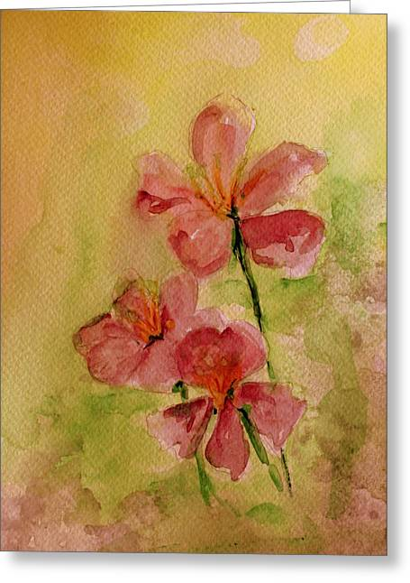 Azalias Greeting Cards - Spring please Greeting Card by Julie Lueders