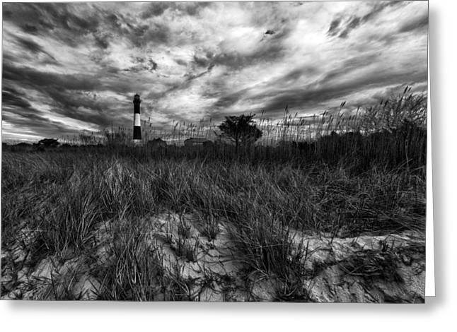 Robert Moses Greeting Cards - Spring Sky at Fire Island Greeting Card by Rick Berk