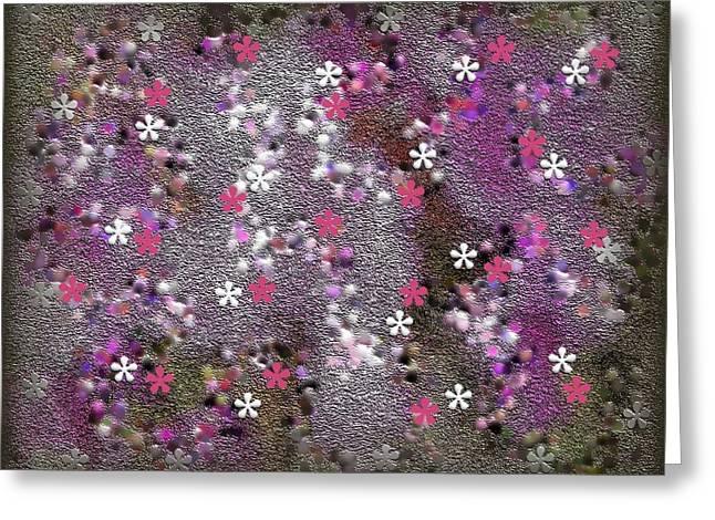 spring Greeting Card by TINATIN DALAKISHVILI