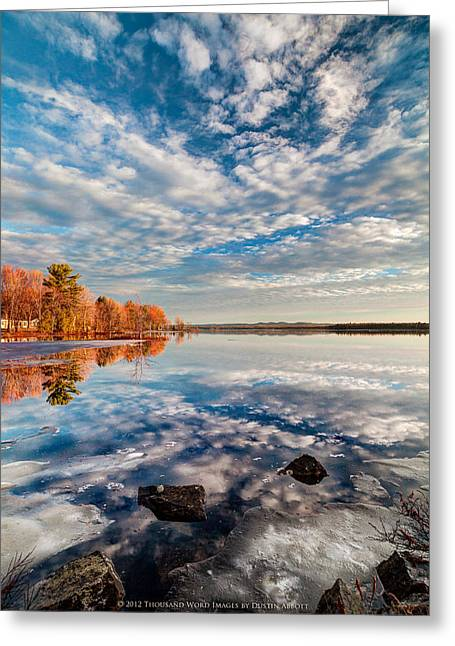 Photoshop Cs5 Greeting Cards - Spring Winter Fall Greeting Card by Dustin Abbott