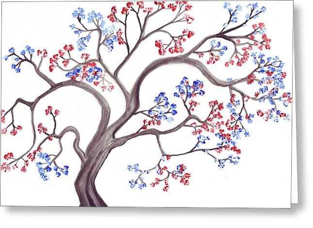 Spring's Promise Greeting Card by Rebecca Blain