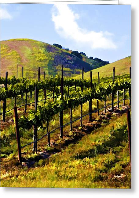 Grapevines Digital Art Greeting Cards - Springs Promise Two Greeting Card by Patricia Stalter