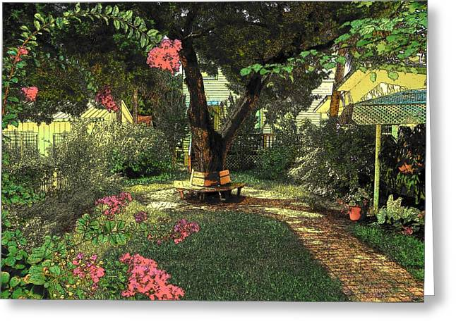 Quite Digital Art Greeting Cards - Sssshhhh Greeting Card by Sheri McLeroy