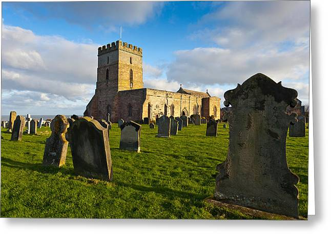 Altar Picture Greeting Cards - St Aidans Parish Church Greeting Card by Gary Finnigan