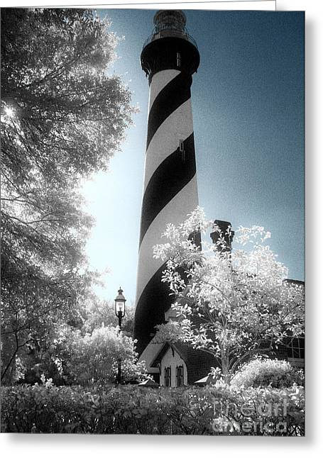 Jeff Holbrook Greeting Cards - St. Augustine Lighthouse Greeting Card by Jeff Holbrook