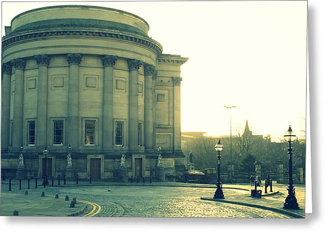 St Georges Hall Liverpool Greeting Card by Georgia Fowler