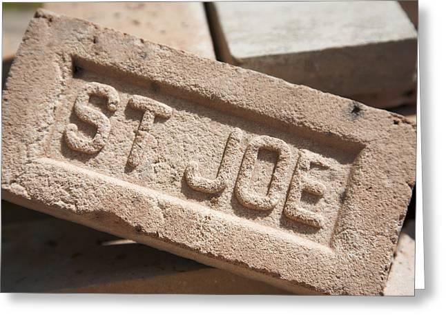Slidell Greeting Cards - St Joe Brickworks Greeting Card by Federico Arce