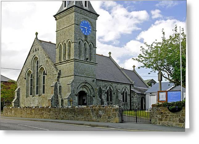 St John The Evangelist Church at Wroxall Greeting Card by Rod Johnson
